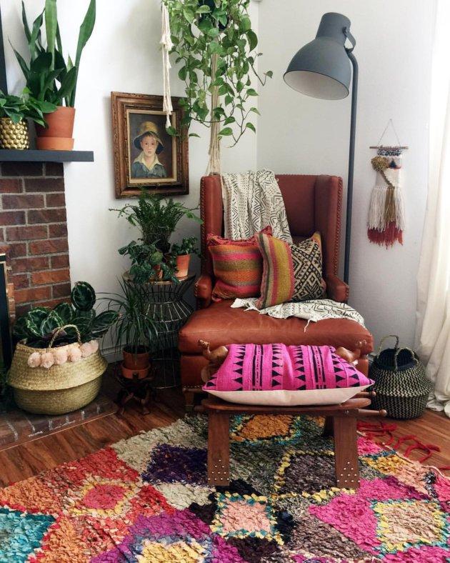modern bohemian home