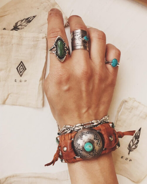 Native American Jewelry With A Touch Of Vintage Boho And