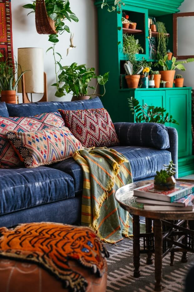 Amazing Bohemian Living Room Pillows