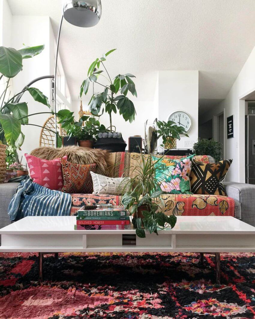Your inspiration for a modern bohemian home by DK Renewal on Modern Boho Decor  id=40415