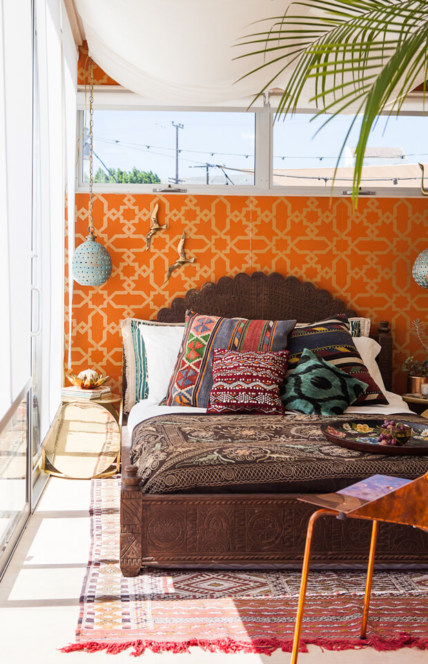 Bohemian bedroom inspiration for you to try this summer!