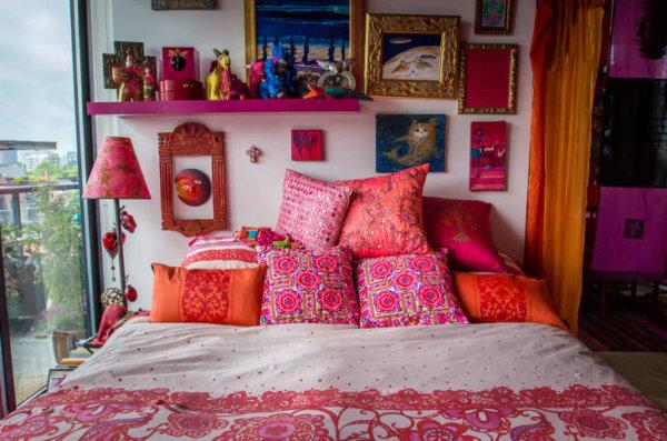 bohemian bedroom inspiration