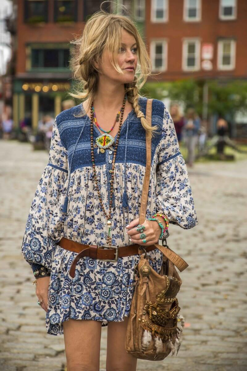the perfect effortless boho chic style for exploring the