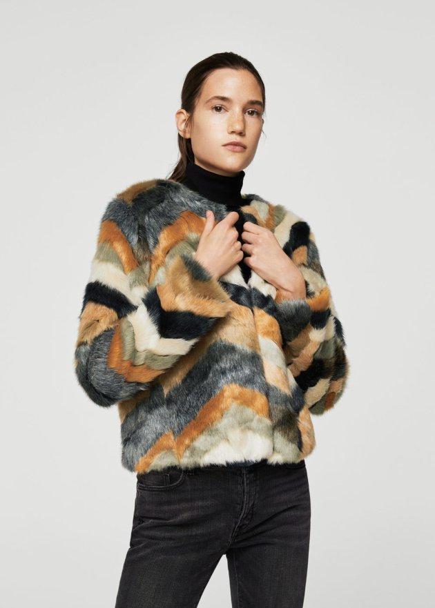 trendy faux fur coats