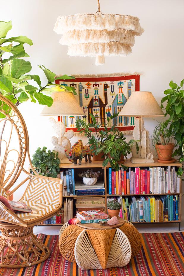bohemian room decor inspiration