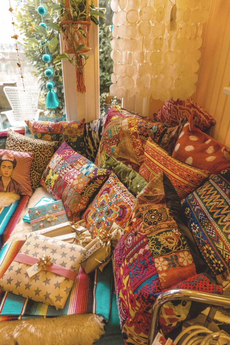 Best bohemian decor shop Amsterdam