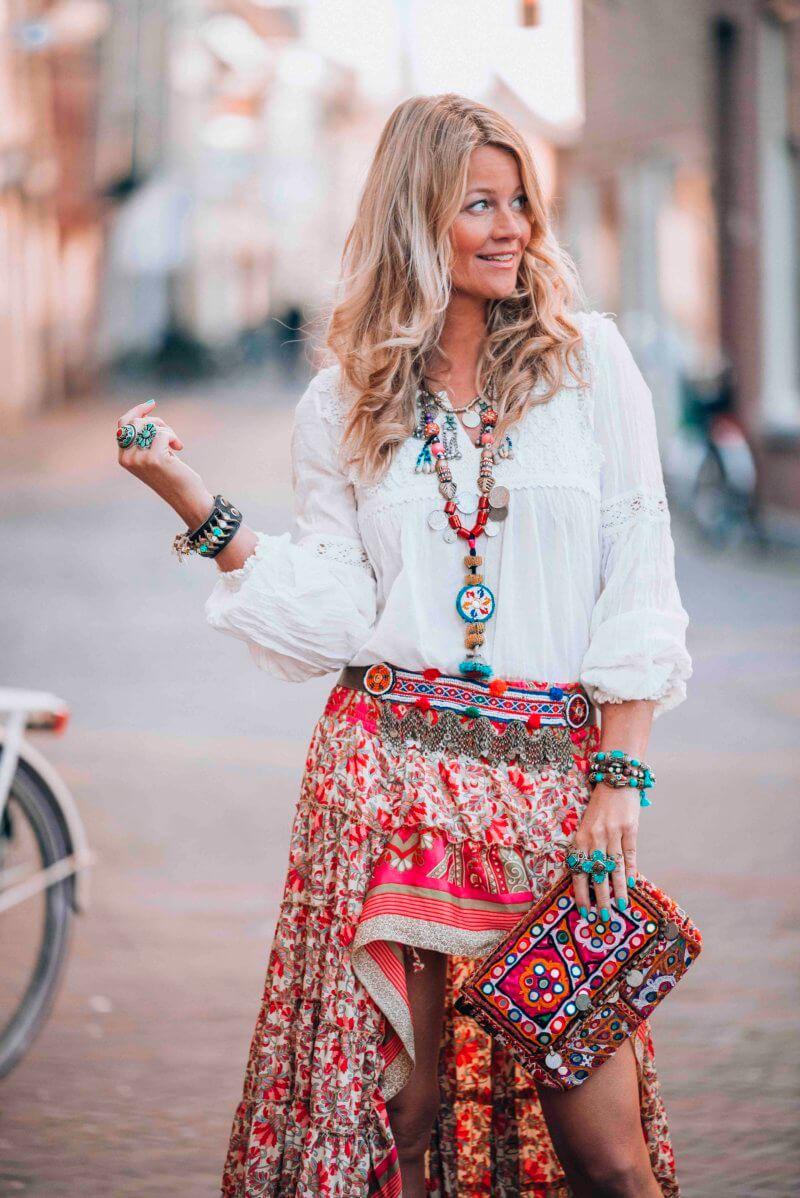 Bohemian Ibiza skirt