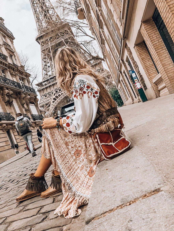 ibizabohogirl in paris