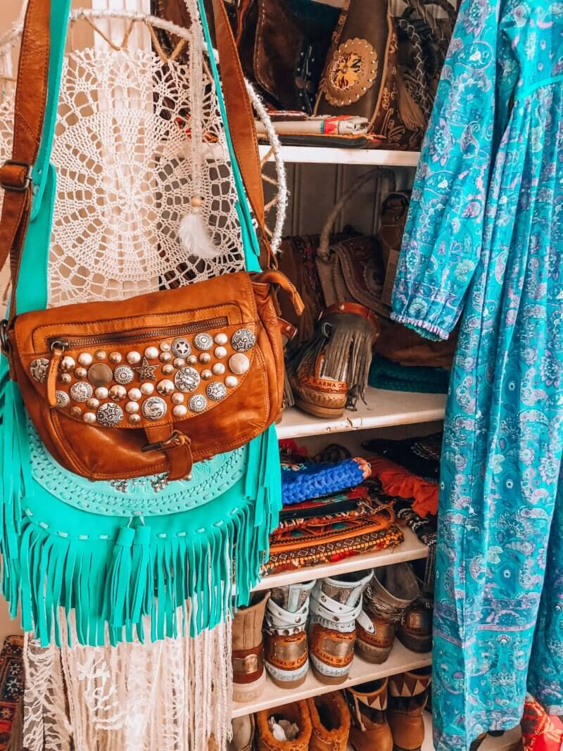 bohemian closet inspiration