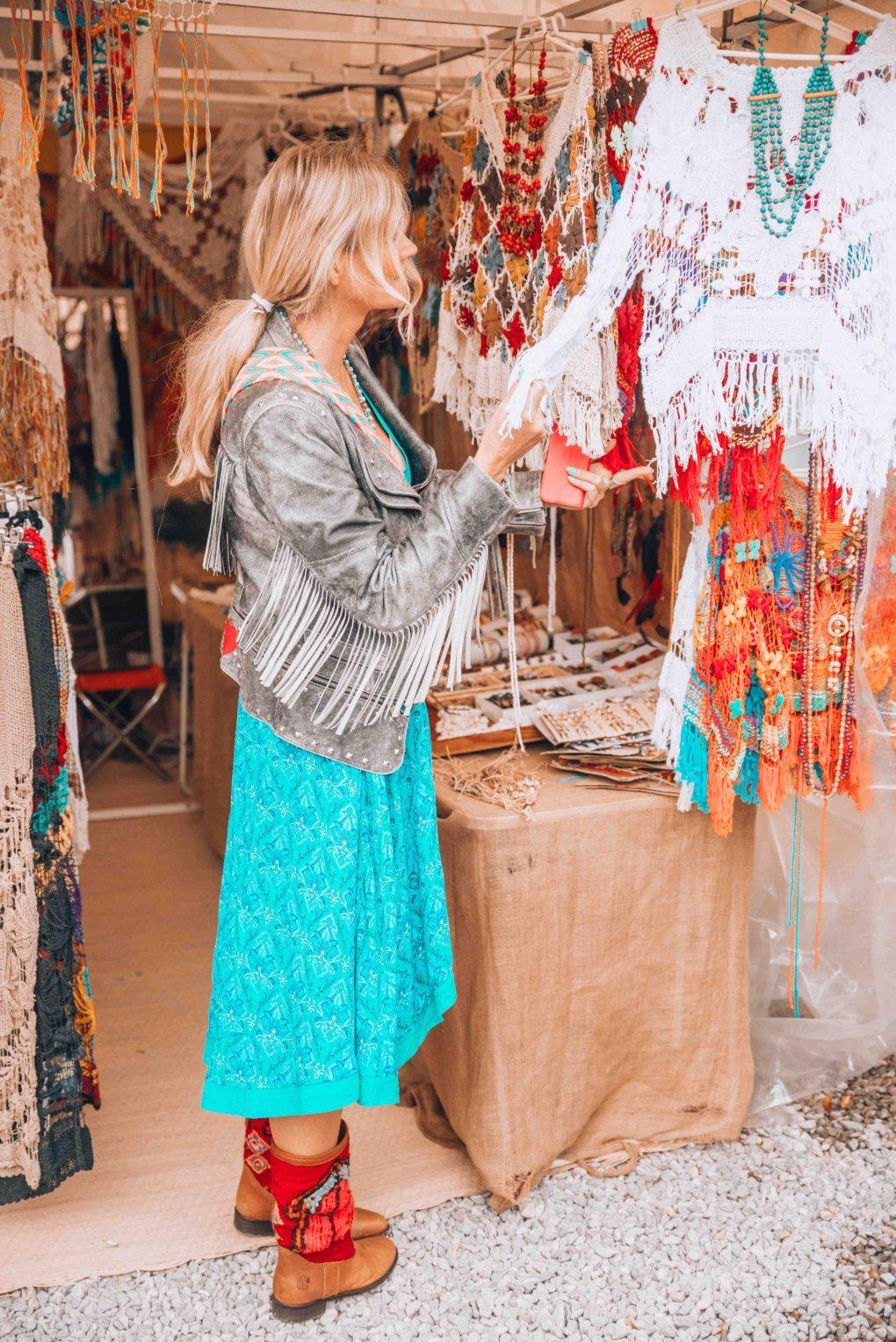 Ibiza hippie market