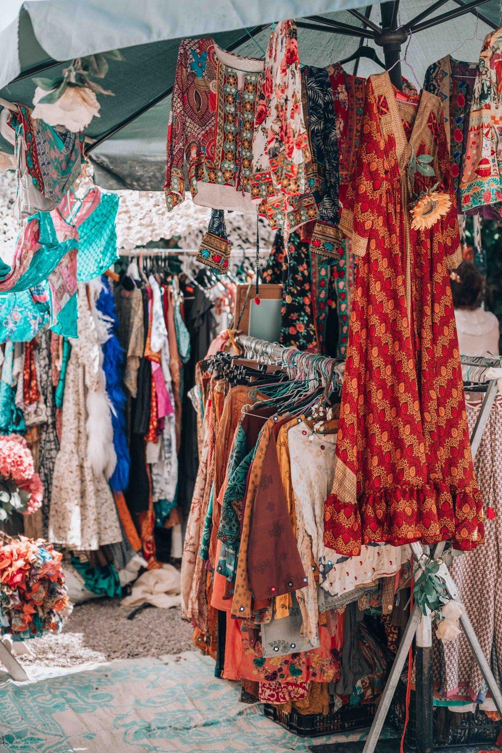 hippie market las Dalias