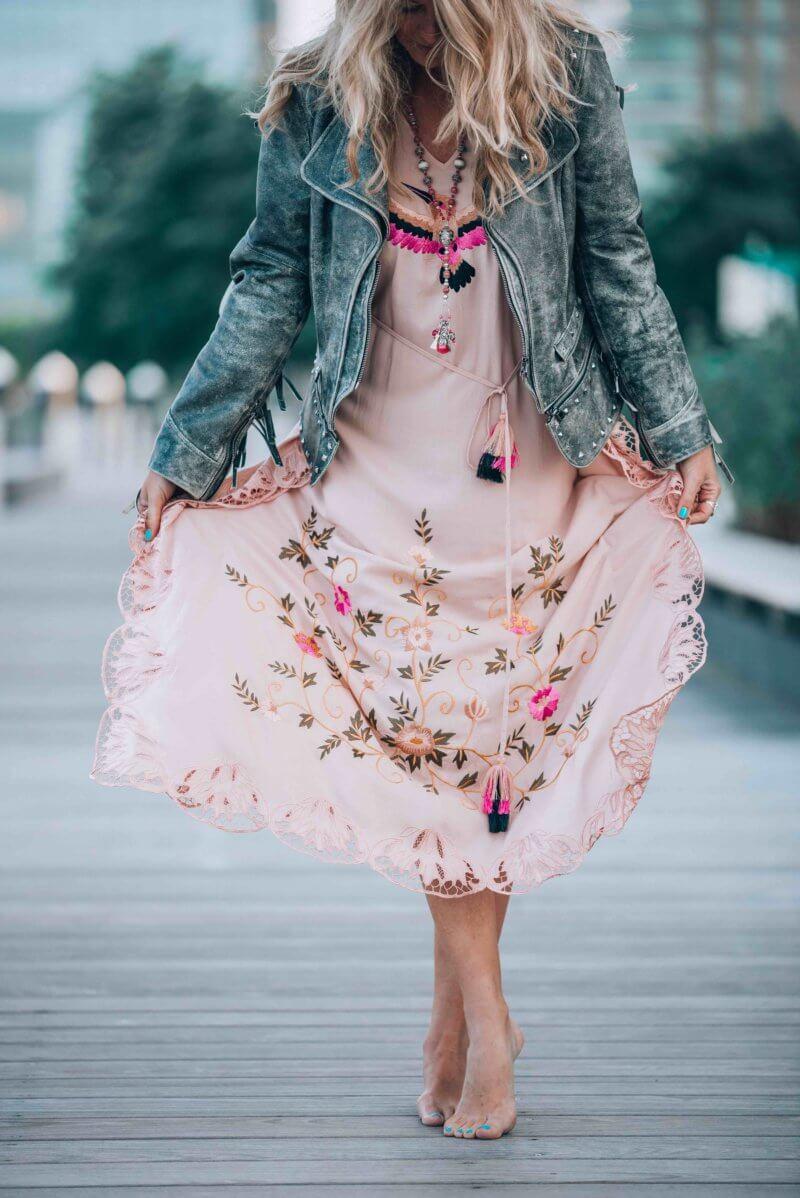 bohemian chic clothing
