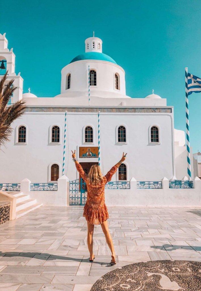 Santorini home decor
