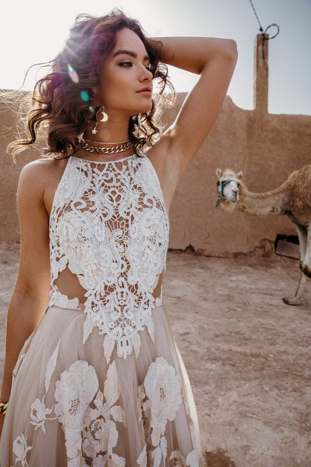 bohemian bridal fashion
