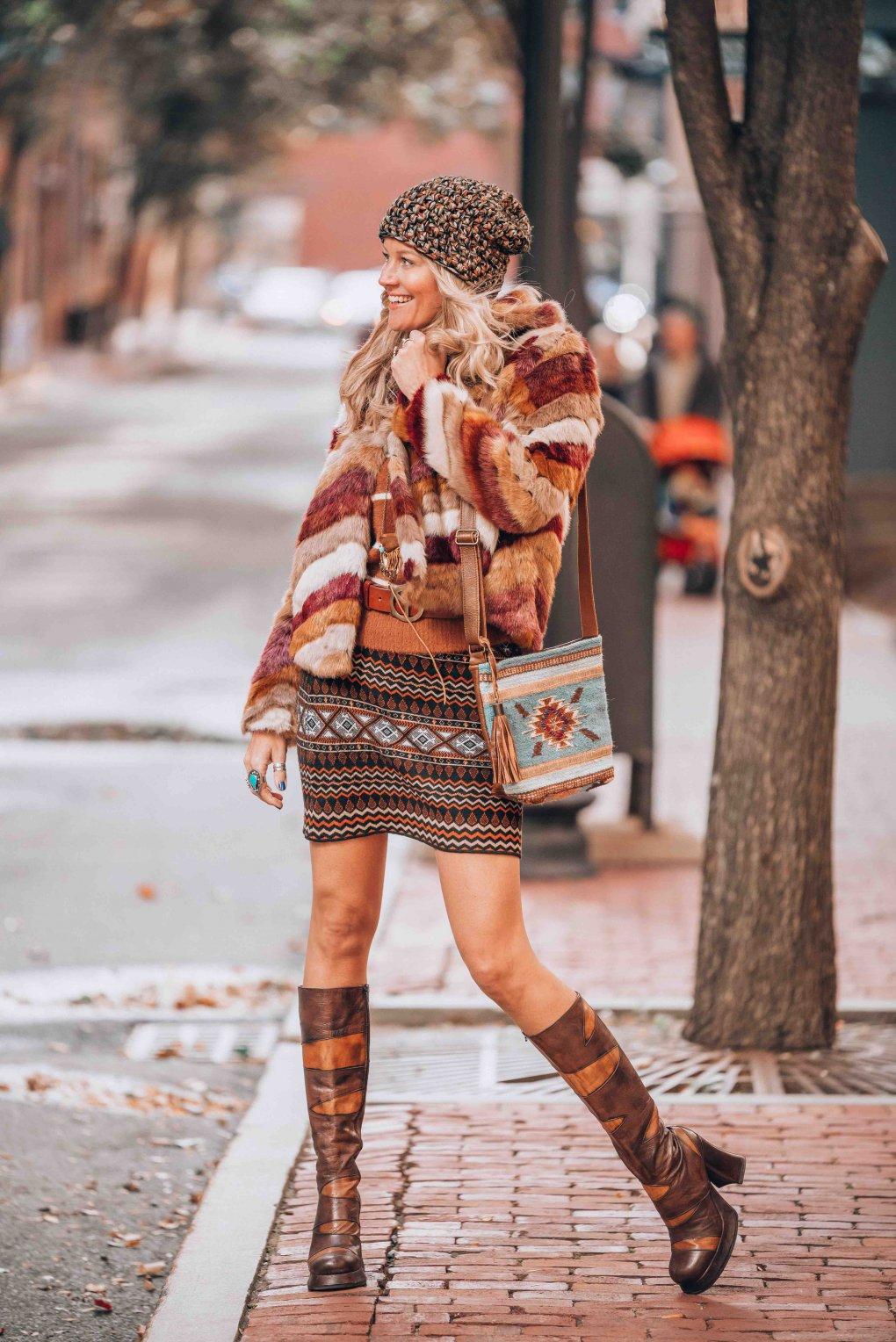 trendy bohemian style