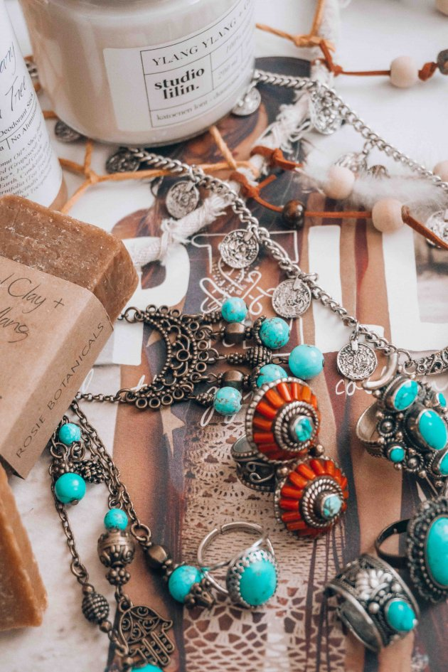 bohemian jewerly Etsy