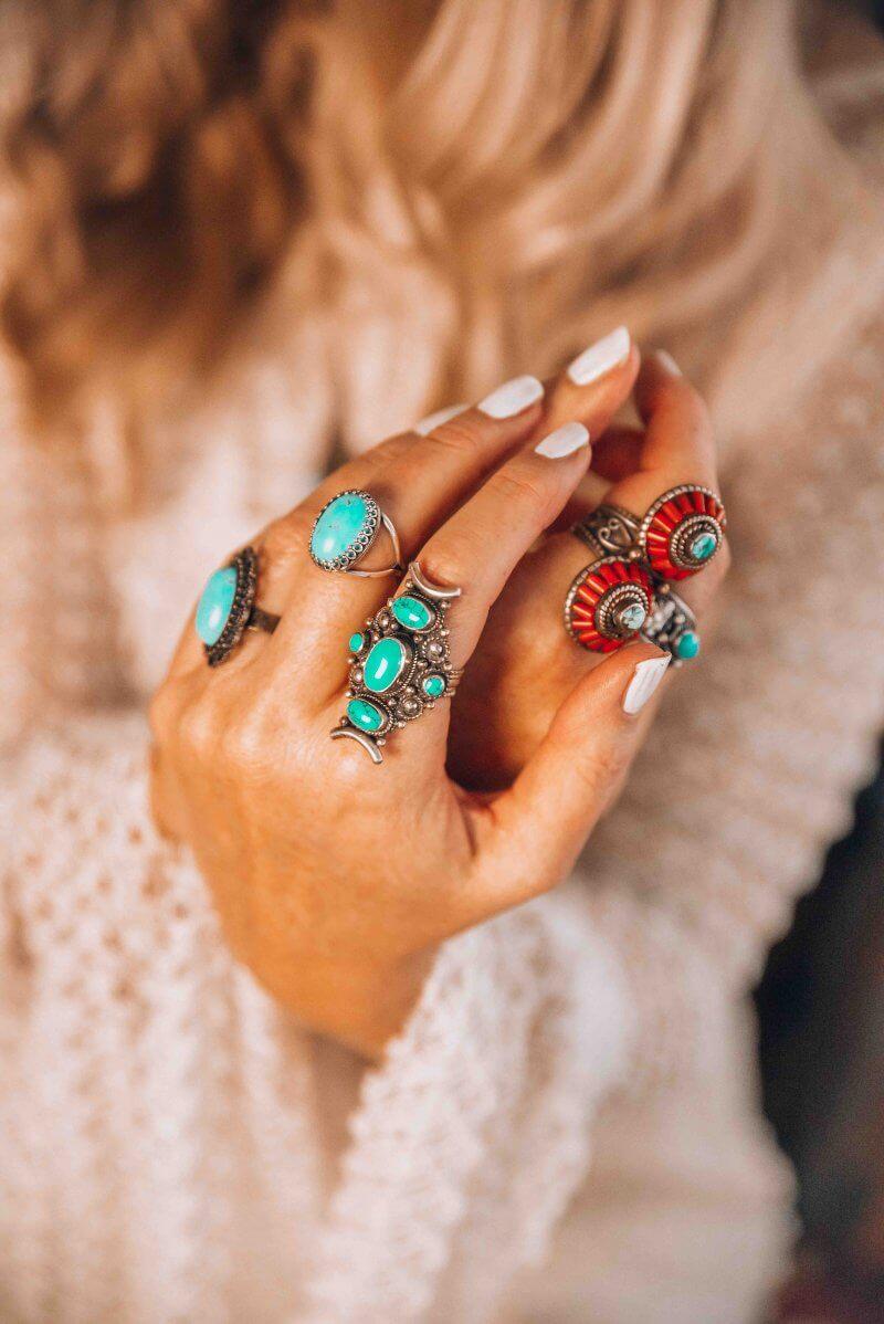 bohemian jewelry Etsy