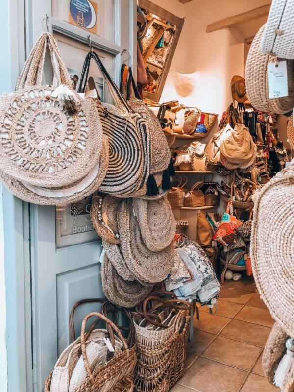 Bag shop Mykonos