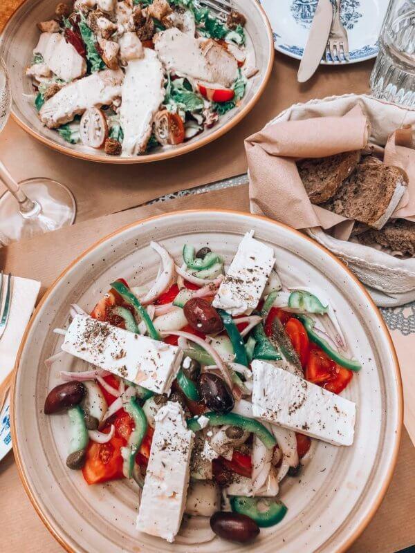 greek food Mykonos