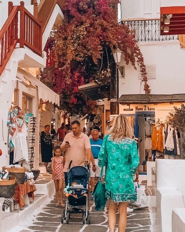 Ibizabohogirl in Mykonos