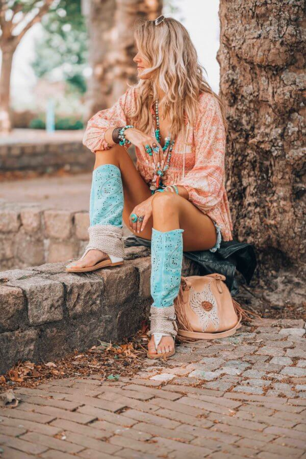 summer style bohemian sandals