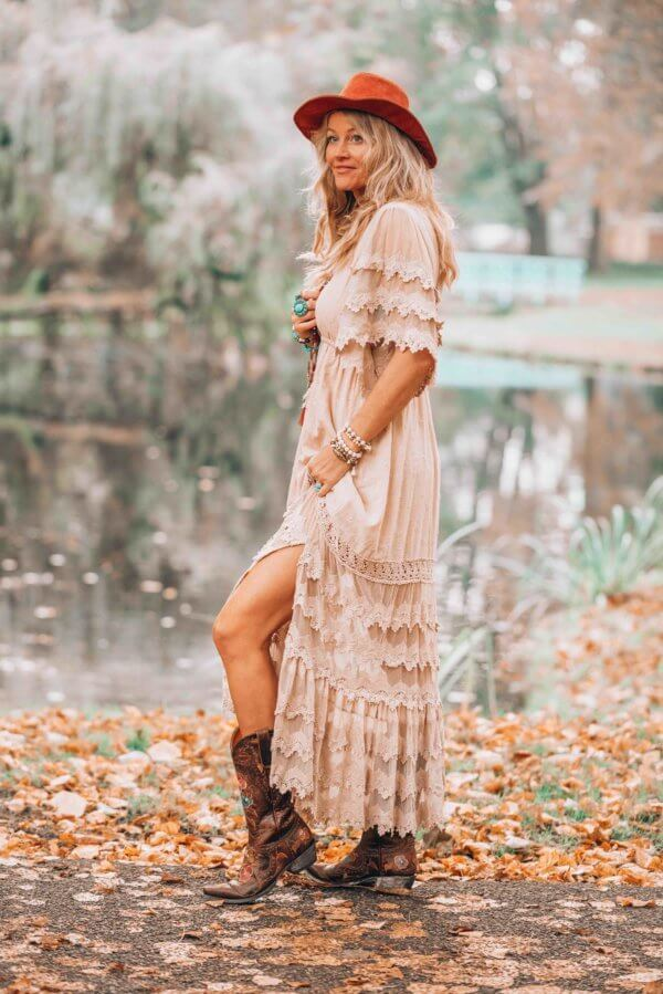 Ibizabohogirl and that bohemian maxi dress