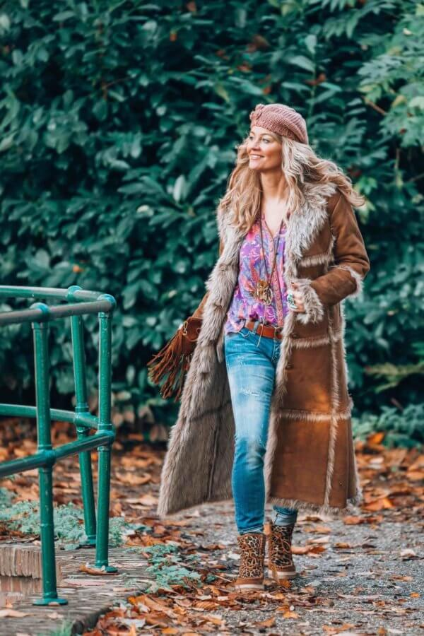 bohemian winter style