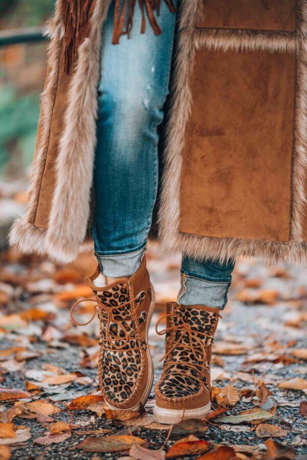 boho winter style