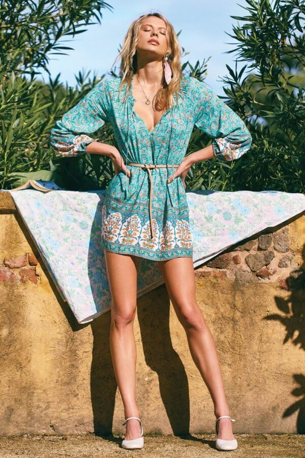 shop bohemian dresses