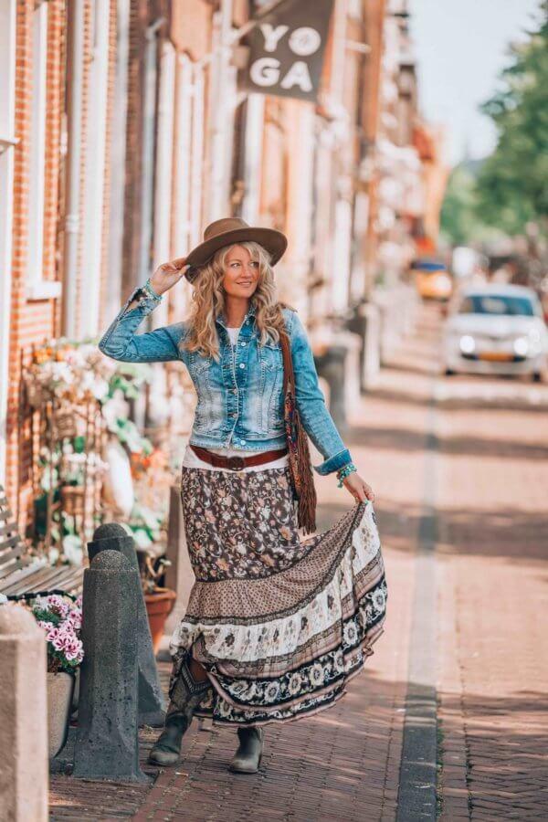 bohemian maxi skirt by Ibizabohogirl