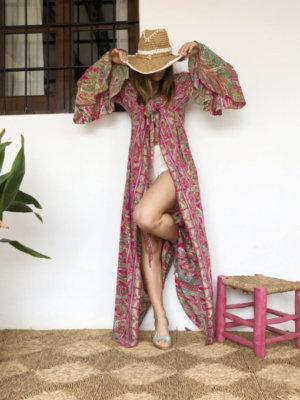 Fuchsia cover up