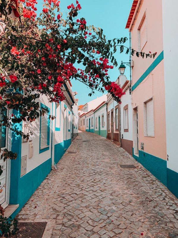 The streets of Portugal