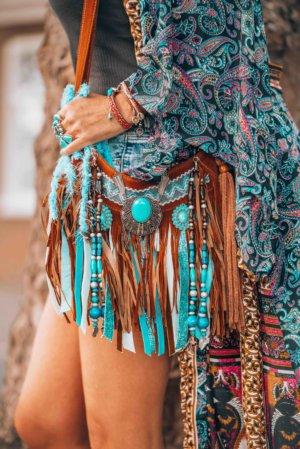 boho inspired bag