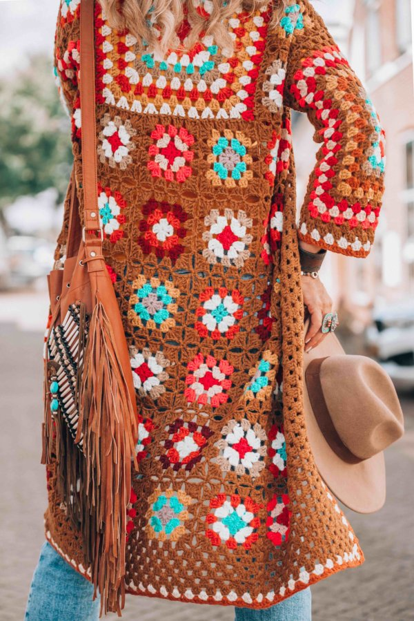 crochet coat by Ibizabohogirl