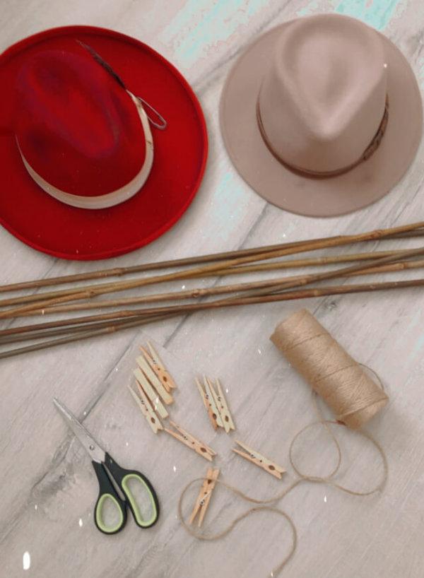 DIY hat organizer essentials