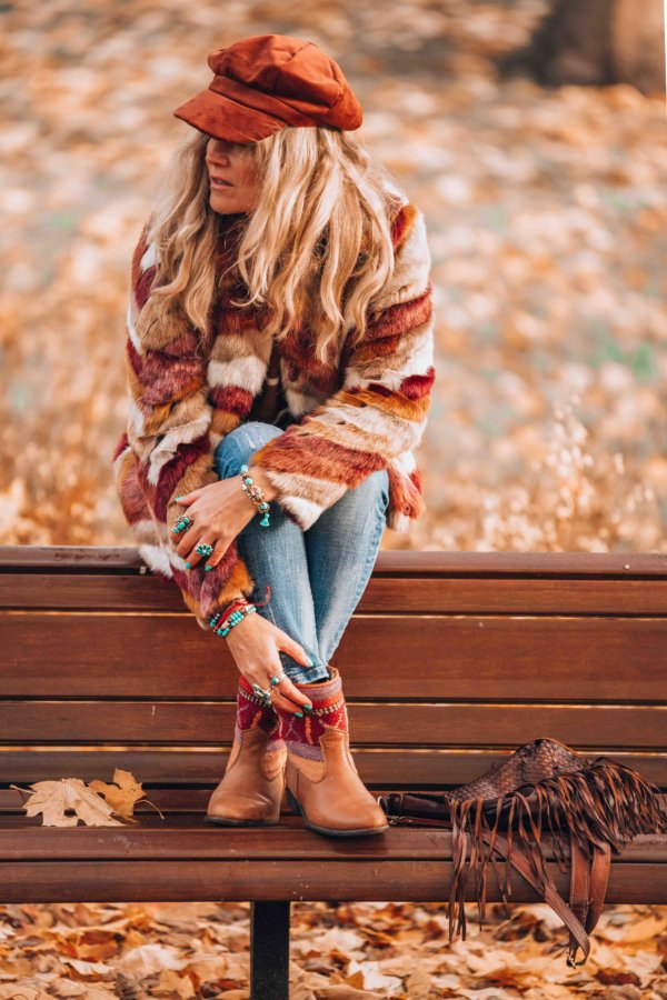 bohemian winter boots