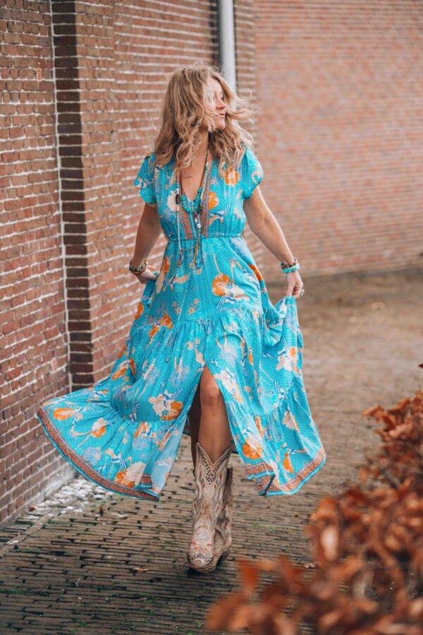 bohemian style maxi dresses